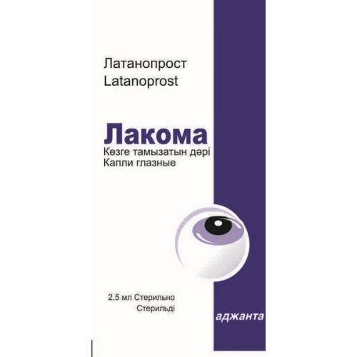 2.5 ml of varnish eye drops