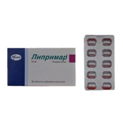 30s Lipitor 10 mg coated tablets