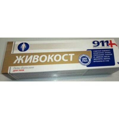 911 larkspur series body 100 ml gel balm