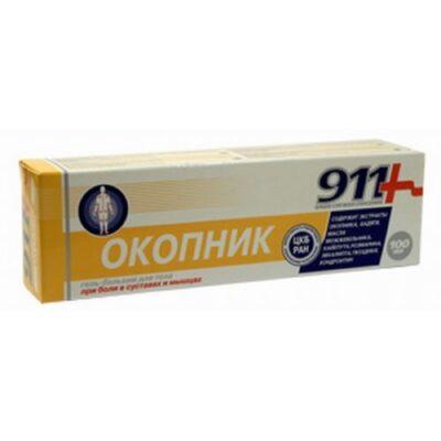 911 lot 100 ml Comfrey gel balm tube