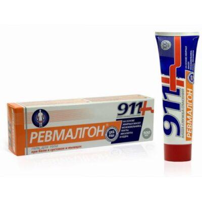 911 lot 100 ml Revmalgon gel body