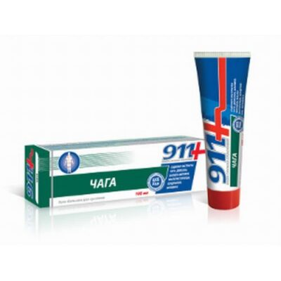 911 series Chaga 100ml gel-balm for the joints