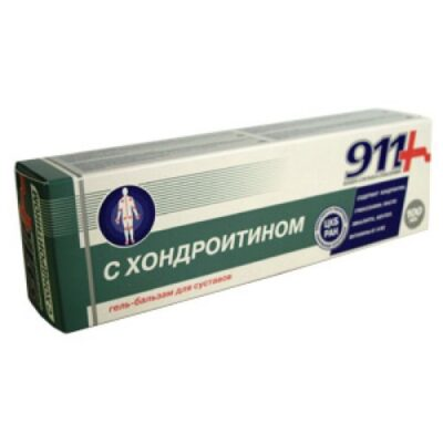 911 series with the 100 ml chondroitin gel balm tube