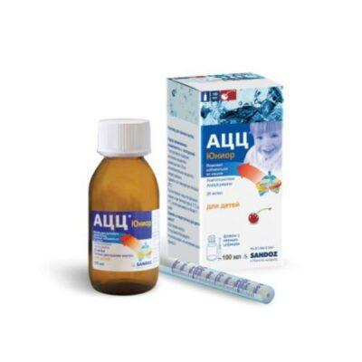 ACC® junior 20 mg / ml 100 ml oral solution