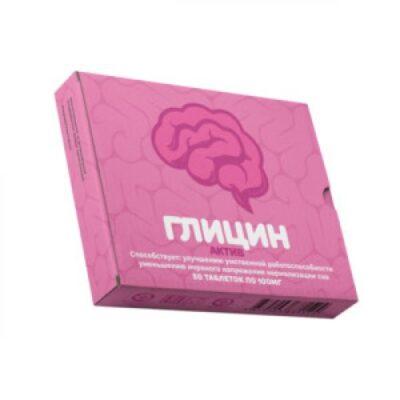 Active Glycine 100 mg (50 tablets)