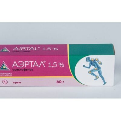 Aertal® 1.5% cream 60 g
