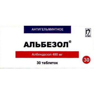 Albezol 400 mg (30 tablets)