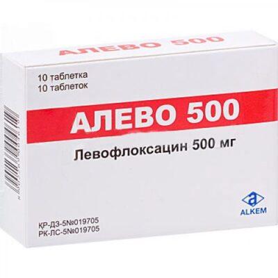 Alev 10s 500 mg film-coated tablets