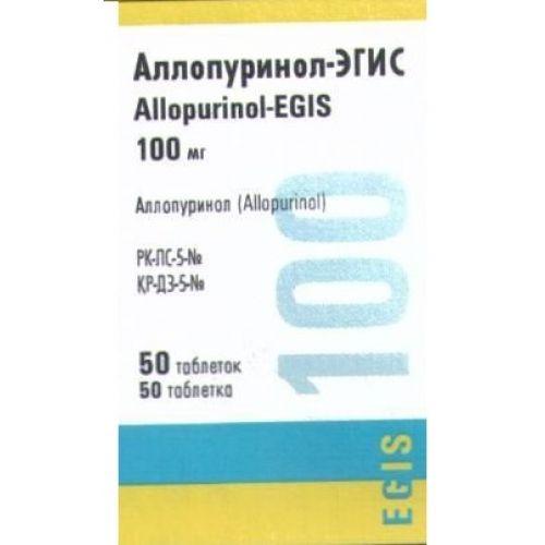 Allopurinol-Egis 100 mg (50 tablets)