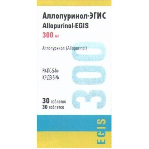 Allopurinol-Egis 300 mg (30 tablets)
