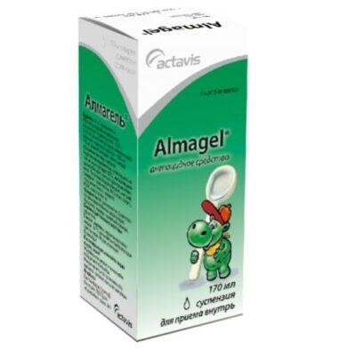 Almagel 170 ml oral suspension metered