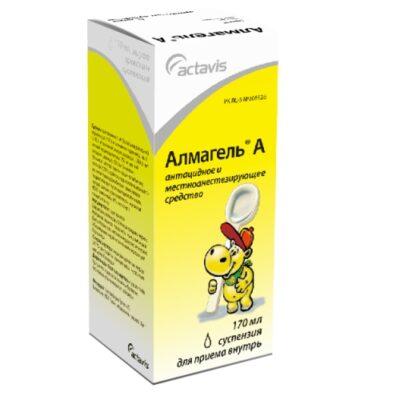 Almagel A 170 ml oral suspension metered