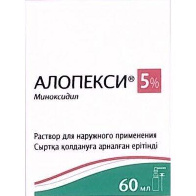 Alopeksi 60 ml of 5% topical solution in vial