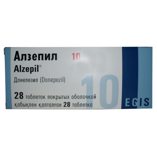 Alzepil (Donepezil) 28's 10 mg coated tablets