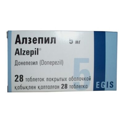 Alzepil (Donepezil) 28's 5 mg coated tablets