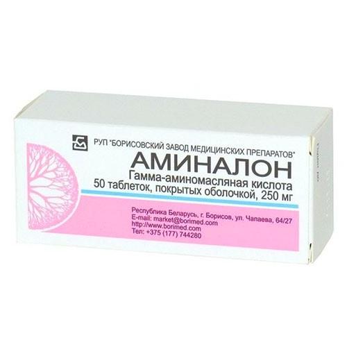 Aminalon (GABA) 250 mg