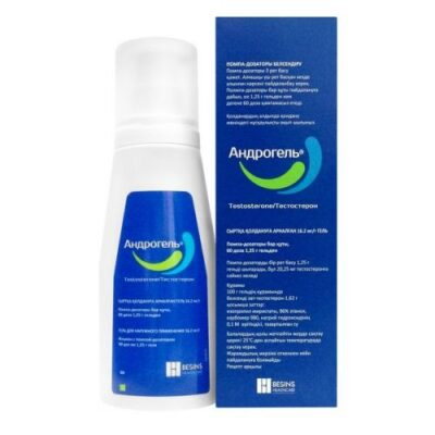 Androgel 16.2 mg/g 88g gel (topical application)