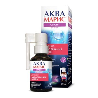 Aqua Maris Strong throat 30 ml spray topically