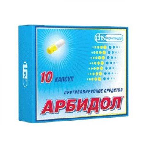 Arbidol 10s 100 mg capsule