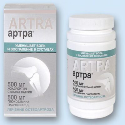 Artra 30s 500 mg coated tablets