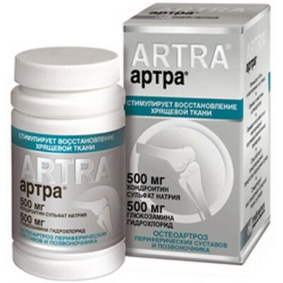 Artra 60s 500 mg coated tablets