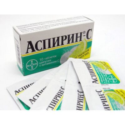 Aspirin-C 10s effervescent tablets