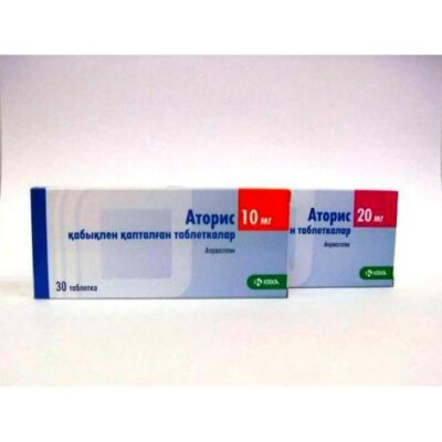 Atoris 30s 20 mg coated tablets