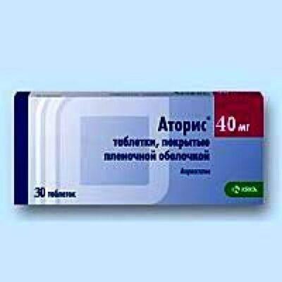 Atoris 30s 40 mg film-coated tablets