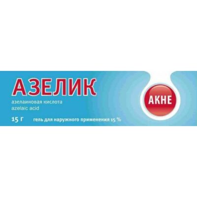 Azelik 15% 15g of the gel for topical application
