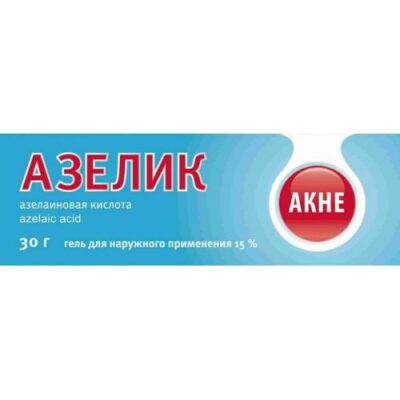 Azelik 15% 30g of the gel for topical application
