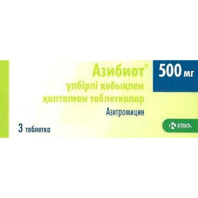 Azibiot 3's 500 mg film-coated tablets