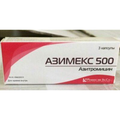 Azimeks 3's 500 mg capsule