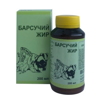 Badger fat 200 ml