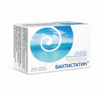 Baktistatin 20s 500 mg capsule