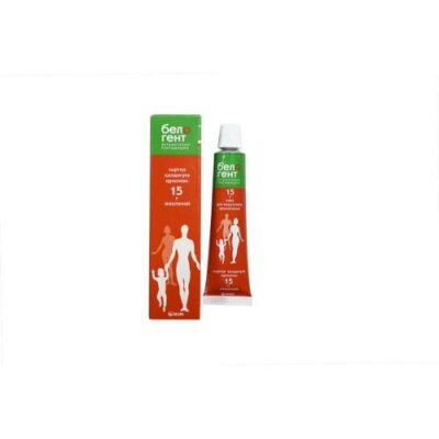 Belogent 15g of ointment for topical use