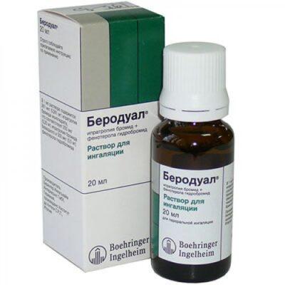 Berodual 20 ml solution for inhalation