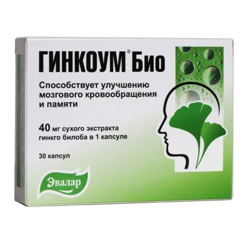 Bio Ginkoum 40 mg (30 capsules)