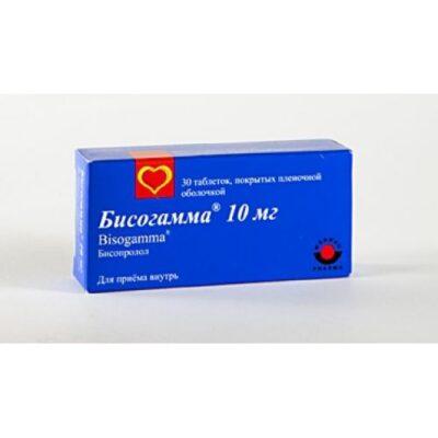 Bisogamma 30s 10 mg film-coated tablets