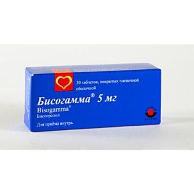 Bisogamma 30s 5 mg film-coated tablets