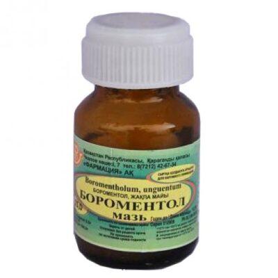 Boromentol 25g ointment bank
