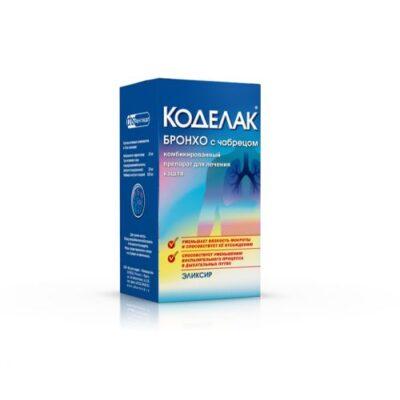 Broncho Codelac thyme 100ml elixir
