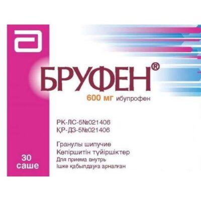 Brufen 600 mg 30s effervescent granule sachet
