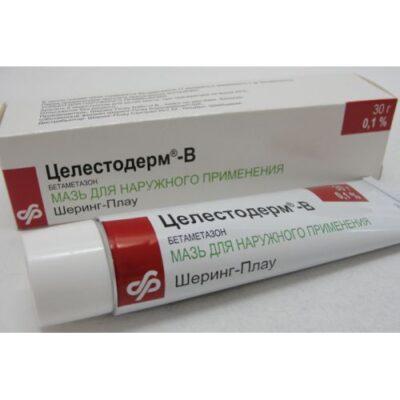 Celestoderm-B garamitsinom 30g ointment tube