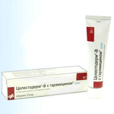 Celestoderm garamitsinom-B with 30g of cream in the tube