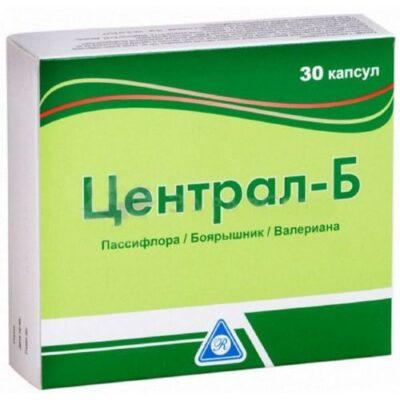 Central-B (30 capsules)
