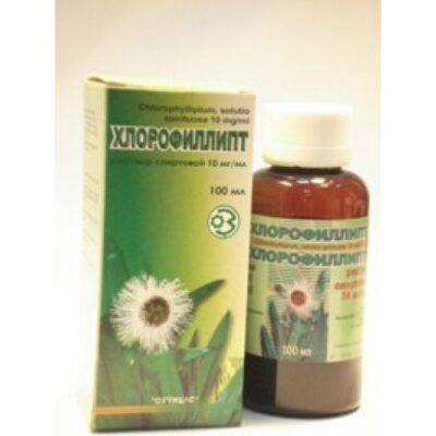 Chlorophillipt 100 ml of 1% alcohol solution ext.