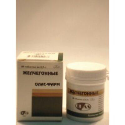 Choleretic 500 mg (60 tablets)