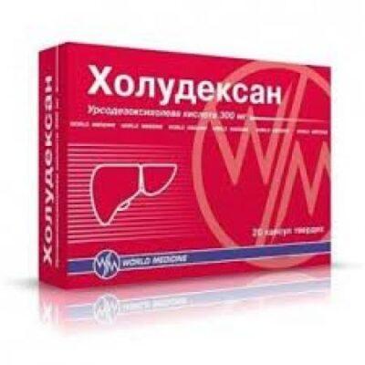 Choludexan (Ursodeoxycholic Acid) 300 mg