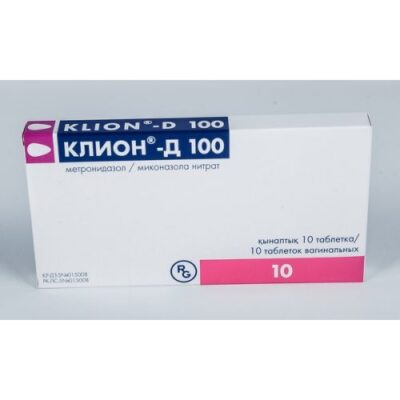 Clione-D 100 mg vaginal (10 tablets)