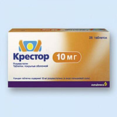 Crestor 28's 10 mg coated tablets